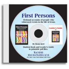 First Persons Study on CD ROM
