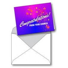 Notecard: Congratulations! From Your Church