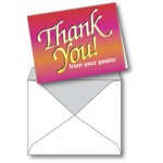 Notecard: Thank You From Your Pastor